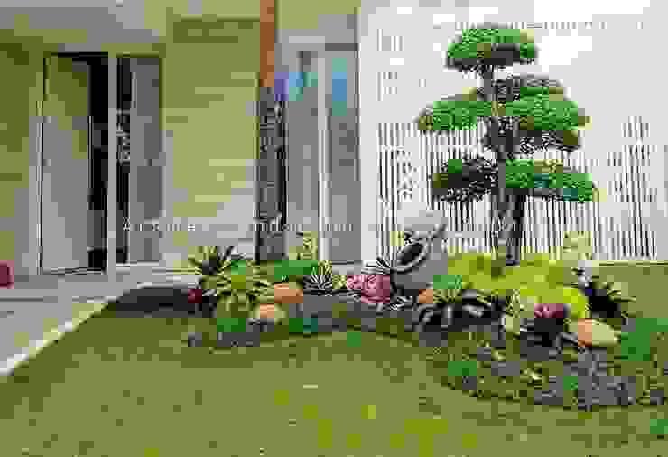 Jasa Pembuatan Taman Sidarjo Jasa Pembuatan Taman Ruang Komersial Minimalis