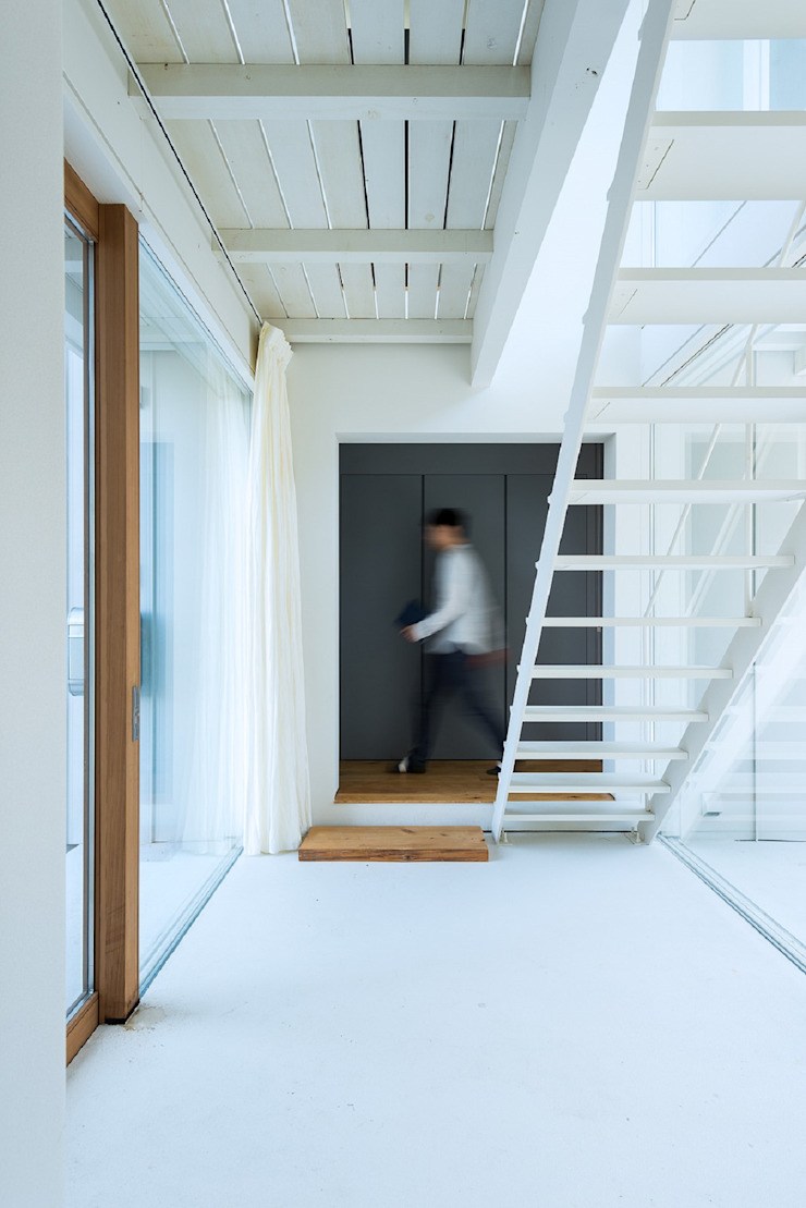 Takeru Shoji Architects.Co.,Ltd Коридор