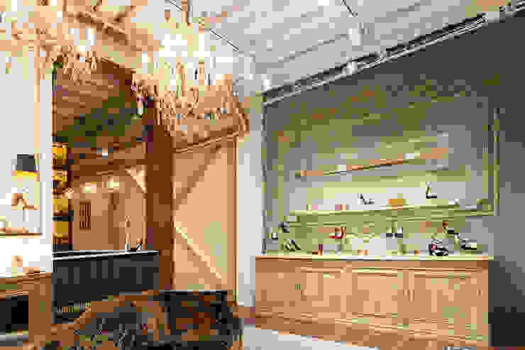 Iluminación Oficinas y tiendas de estilo ecléctico de Interioristas Dimeic, diseñadores y decoradores en Madrid Ecléctico