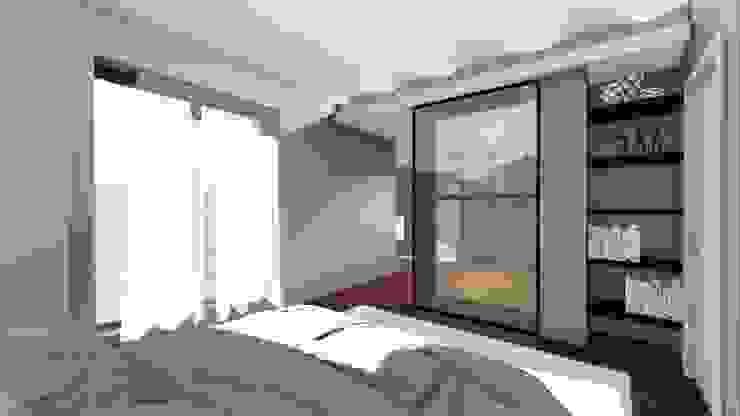 La camera da letto STUDIO ARCHITETTURA SPINONI ROBERTO Camera da letto moderna
