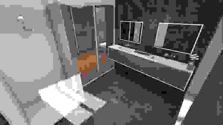 Il bagno moderno STUDIO ARCHITETTURA SPINONI ROBERTO Bagno moderno
