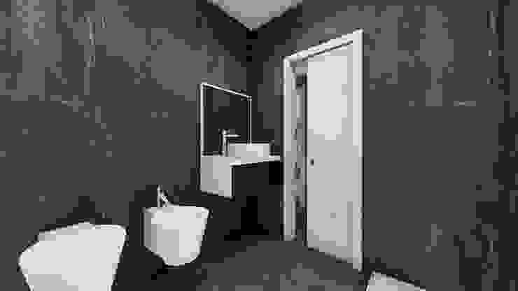 Il secondo bagno STUDIO ARCHITETTURA SPINONI ROBERTO Bagno moderno