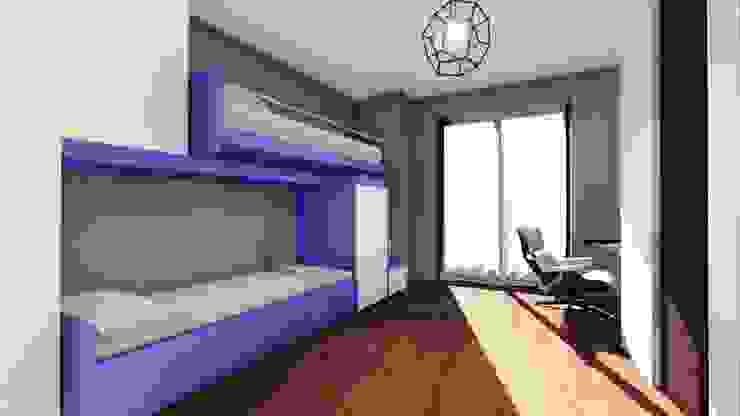 La stanza dei ragazzi STUDIO ARCHITETTURA SPINONI ROBERTO Camera da letto moderna