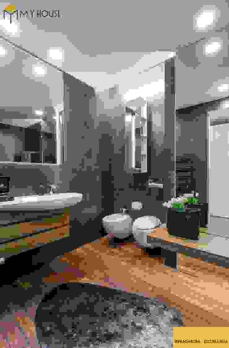 Thiết kế nội thất biệt thự trọn gói chuyên nghiệp – Nội Thất My House: hiện đại  by Nội Thất My House, Hiện đại Đá hoa