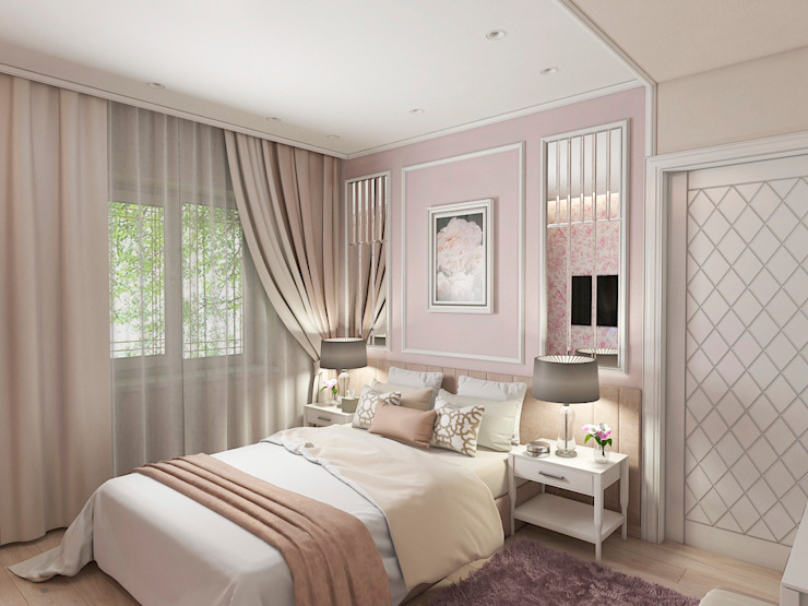 Bedroom by #martynovadesign,