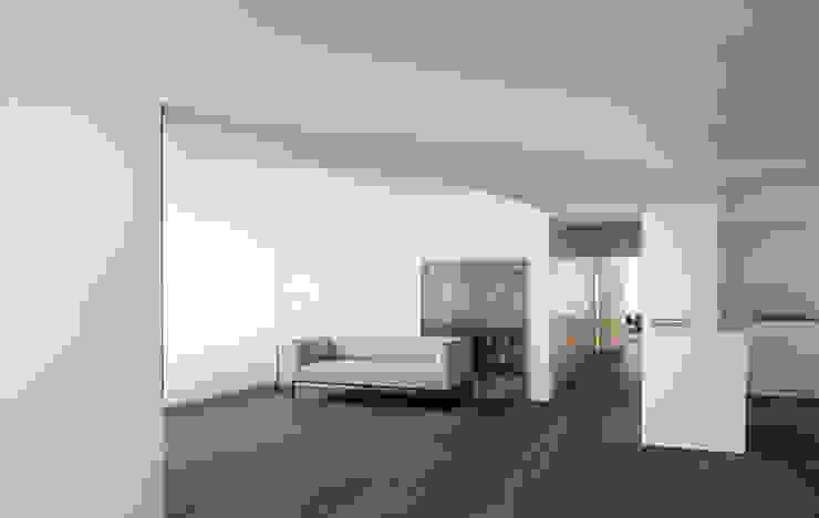 Mediterranean style living room by Balzar Arquitectos Mediterranean