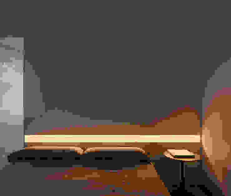 Mediterranean style bedroom by Balzar Arquitectos Mediterranean