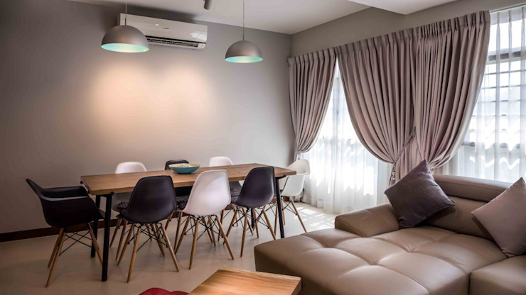 Fully Furnished  interior design in Singapore: modern  by sk66-Carpenter-Singapore,Modern