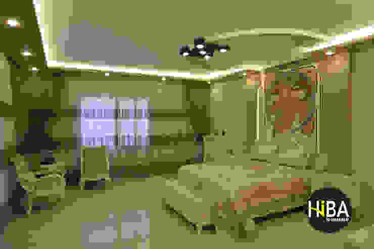 Sibel Yüksel Villası Hiba iç mimarik Klasik Yatak Odası