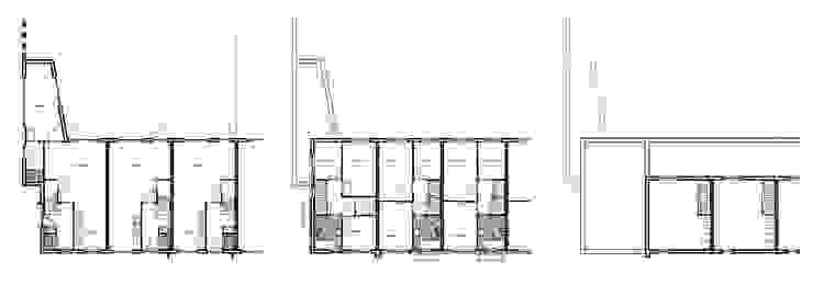 Woningbouw Singelkwartier Schuytgraaf, Arnhem Moderne huizen van Verheij Architecten BNA Modern