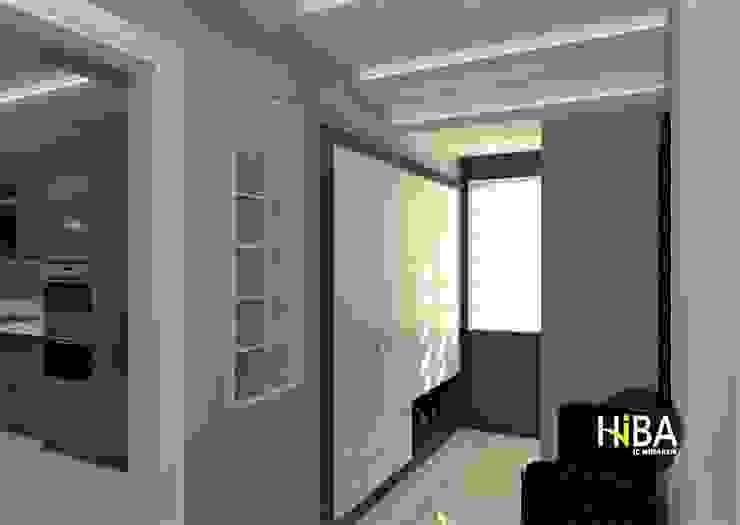 Hành lang, sảnh & cầu thang phong cách hiện đại bởi Hiba iç mimarik Hiện đại