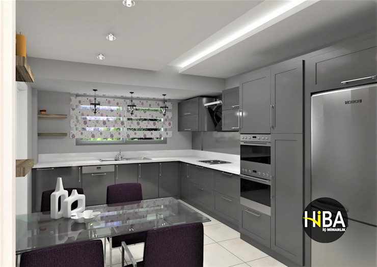 Modern style kitchen by Hiba iç mimarik Modern