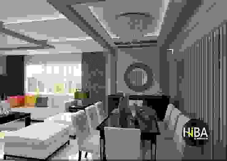 Hiba iç mimarik Modern dining room