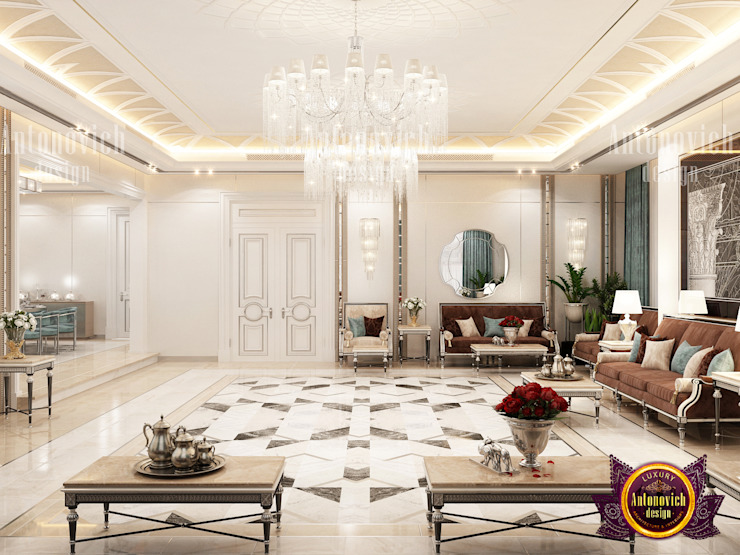 Living Room Idea For Your Contemporary Style by Luxury Antonovich Design