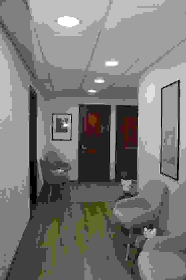 DESPUES / SALA DE ESPERA de Estudio Arquitectura y construccion PR/ Remodelaciones y Diseño de interiores / Santiago, Rancagua y Viña del mar Moderno