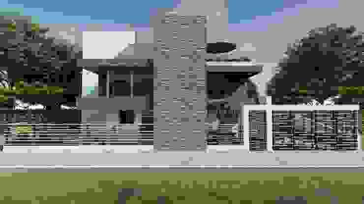 Rumah Modern Oleh DISARQ ARQUITECTOS. Modern