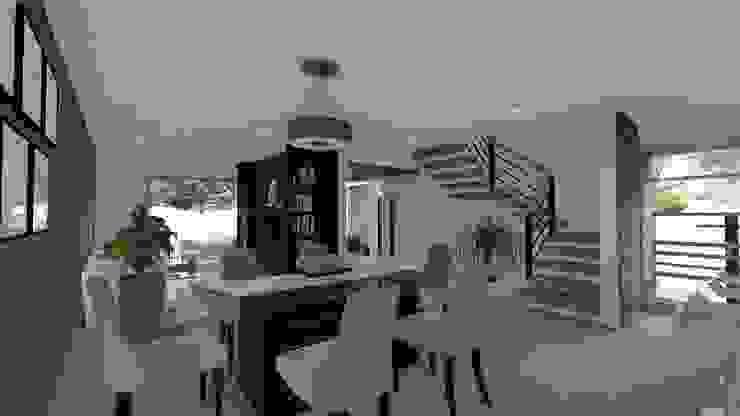 Ruang Makan Modern Oleh DISARQ ARQUITECTOS. Modern