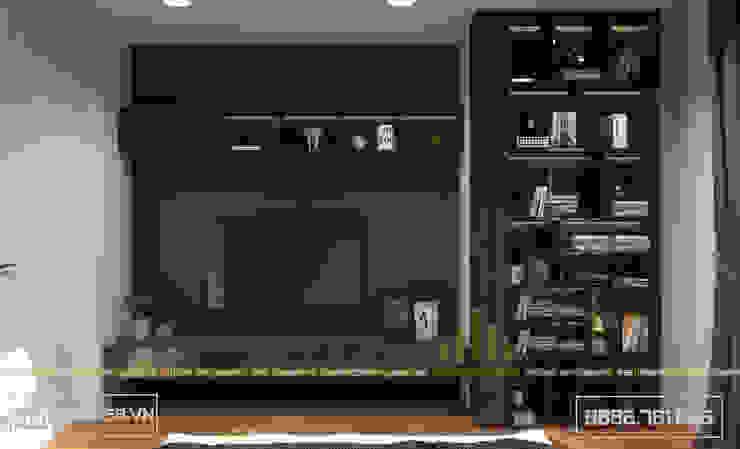 Không gian phòng ngủ Master bởi Thiết kế - Nội thất - Dominer