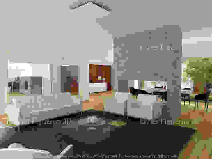 Livings de estilo moderno de Javier Figueroa 3D Moderno