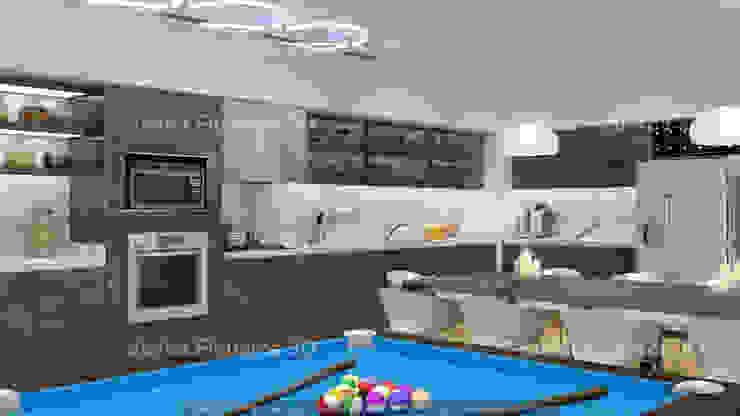 Comedores de estilo moderno de Javier Figueroa 3D Moderno