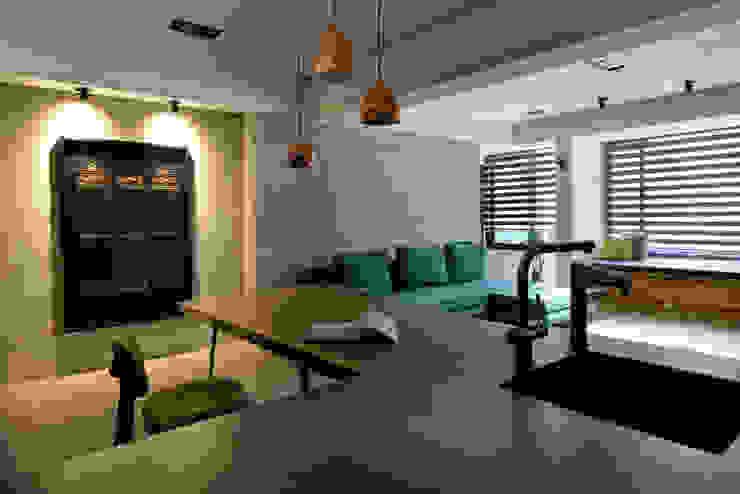 臨沂街-輕工業風 星葉室內裝修有限公司 餐廳