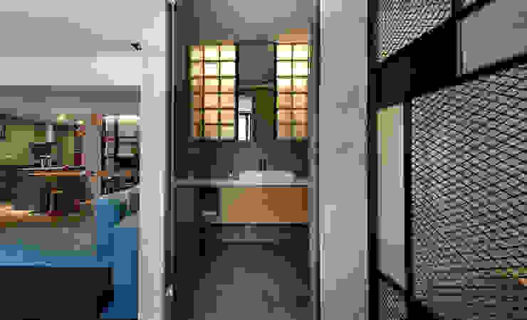 臨沂街-輕工業風 星葉室內裝修有限公司 浴室