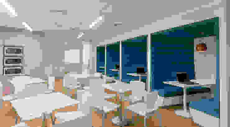 MEETING BOX utilizado por muchas empresas para realizar reuniones ordinarias o extraordinarias. de LINEA & PUNTO - Diseño y Fabricacion de Muebles Moderno
