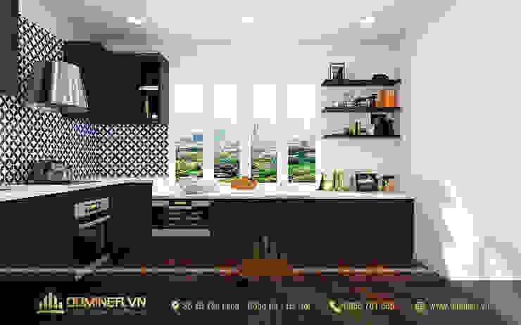 Không gian bếp bởi Thiết kế - Nội thất - Dominer
