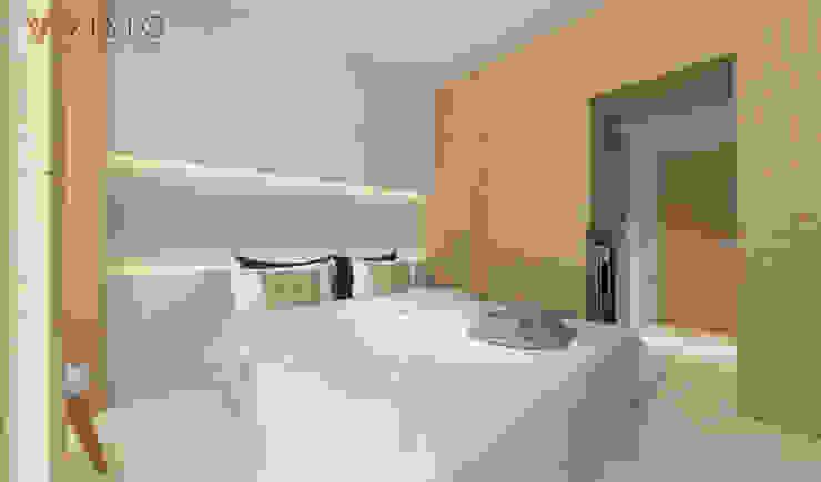 Спальня в стиле минимализм от PT VISIO GEMILANG ABADI Минимализм Изделия из древесины Прозрачный