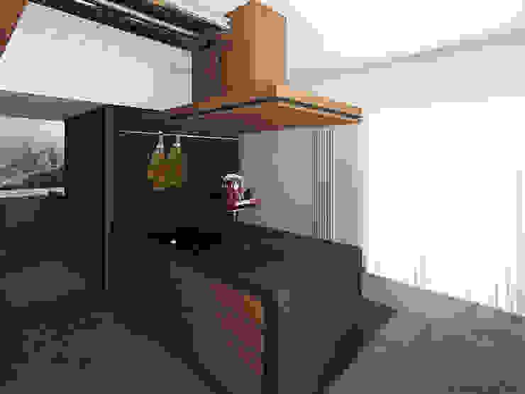 Appartamento C|S - Corleone: Cucina in stile  di ALESSIO LO BELLO ARCHITETTO a Palermo,