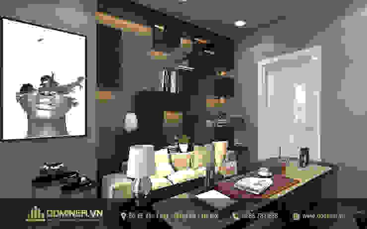 Phòng làm việc bởi Thiết kế - Nội thất - Dominer