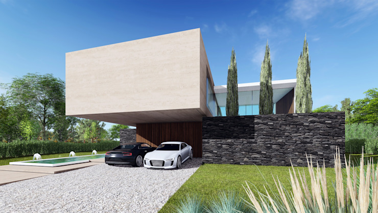 by KLS Arquitectos Minimalist