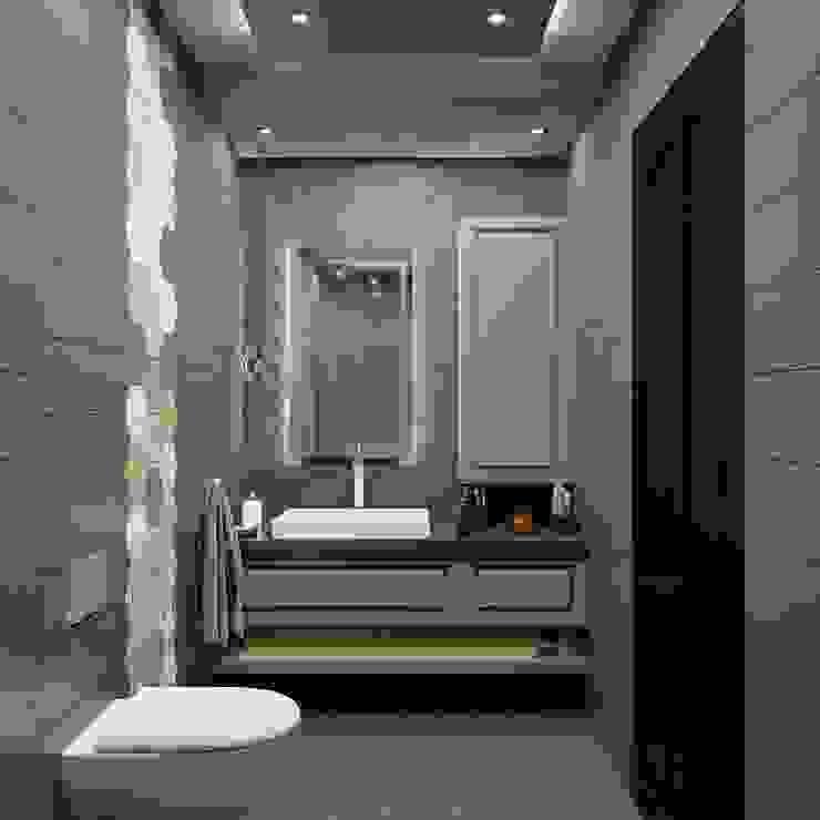 Küçük banyolar ANTE MİMARLIK Modern Banyo