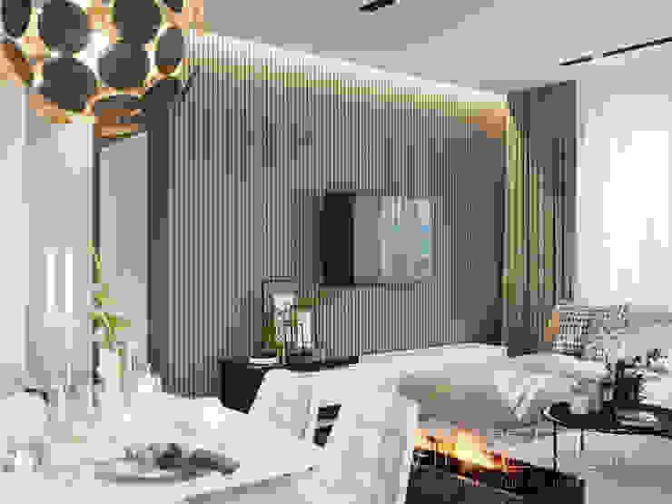 Modern Apartment Design by Vinterior - дизайн интерьера Minimalist