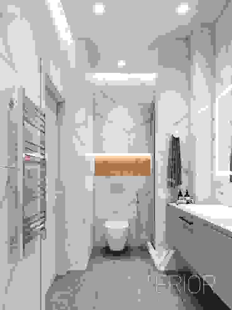 Modern Apartment Design Minimalist style bathroom by Vinterior - дизайн интерьера Minimalist