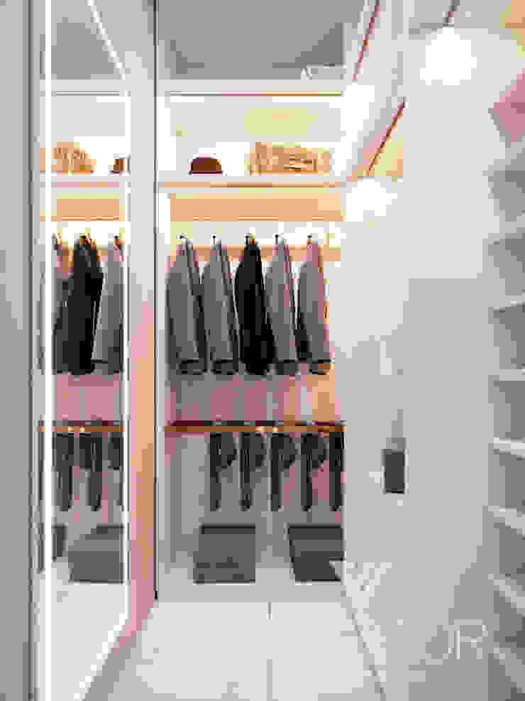 Modern Apartment Design Minimalist dressing room by Vinterior - дизайн интерьера Minimalist
