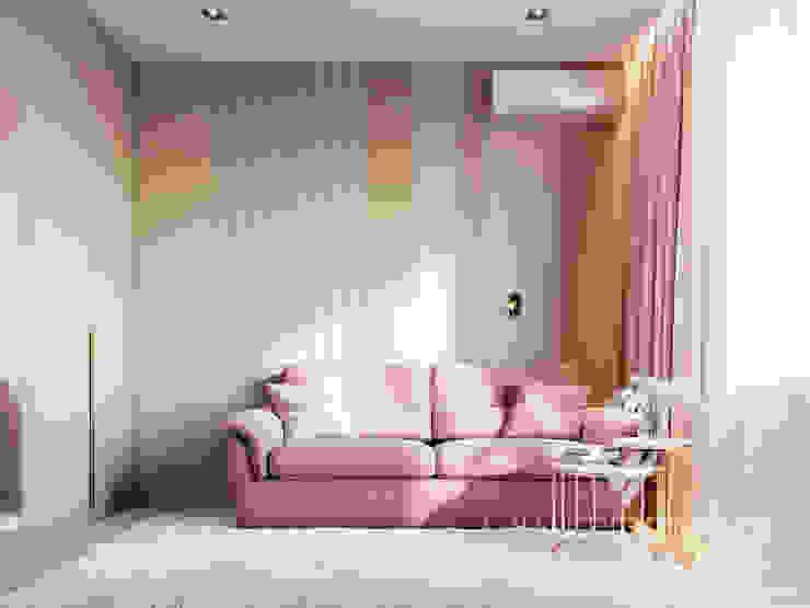 Modern Apartment Design Minimalist bedroom by Vinterior - дизайн интерьера Minimalist