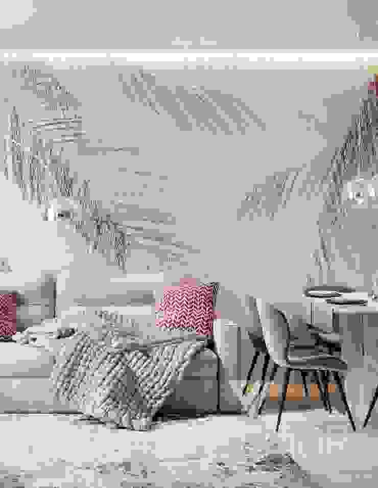 Deisgn interior for family with 2 kids Moderne Wohnzimmer von Vinterior - дизайн интерьера Modern
