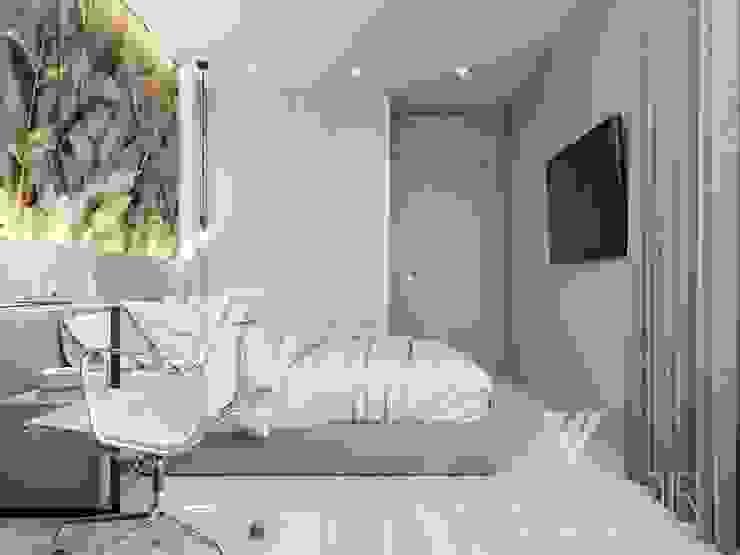 Deisgn interior for family with 2 kids Moderne Schlafzimmer von Vinterior - дизайн интерьера Modern