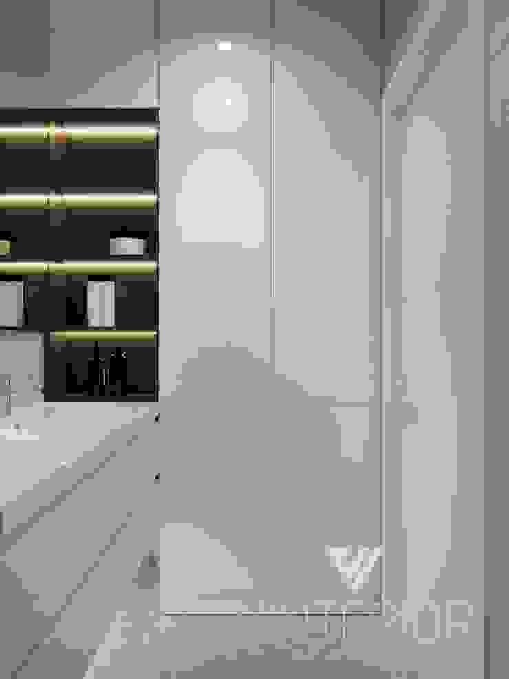 Deisgn interior for family with 2 kids Moderne Badezimmer von Vinterior - дизайн интерьера Modern