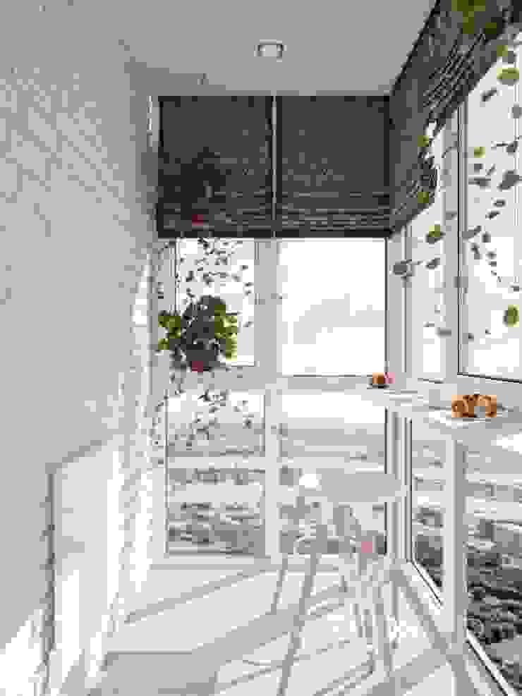 Deisgn interior for family with 2 kids von Vinterior - дизайн интерьера Modern