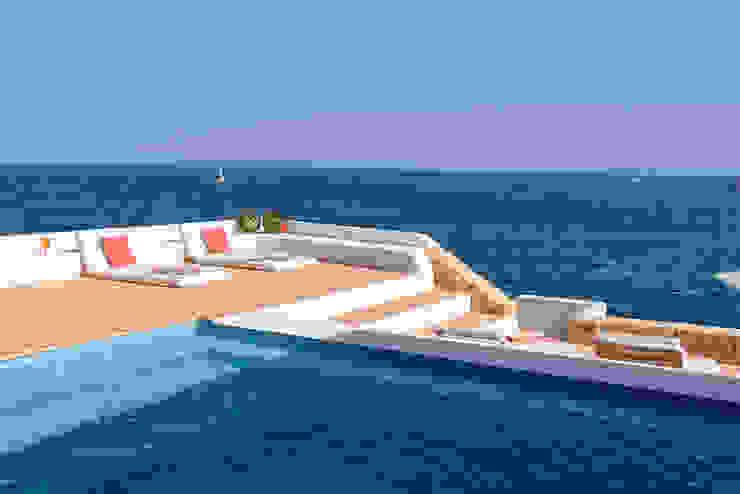 Proyecto de diseño, obra e interiorismo de una casa de verano en frente del mar de Estatiba construcción, decoración y reformas en Ibiza y Valencia Mediterráneo