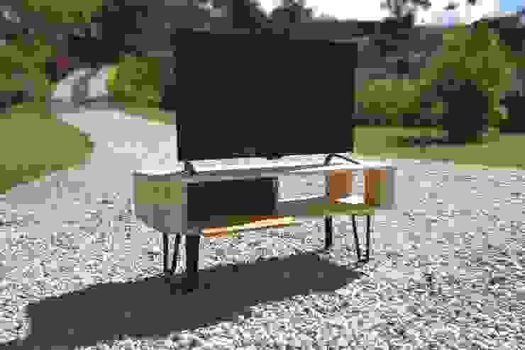 Mesa de Tv pallets de Objart Moderno Madera Acabado en madera