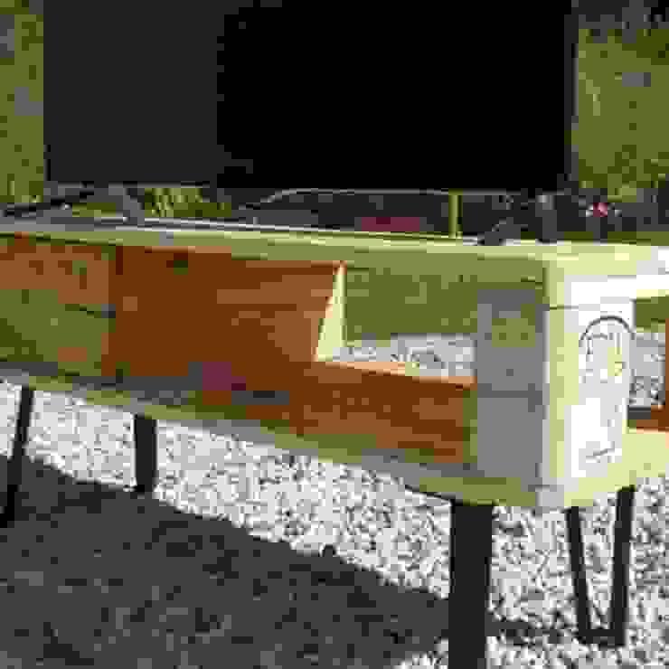 Mesa de Tv pallets de Objart Rústico