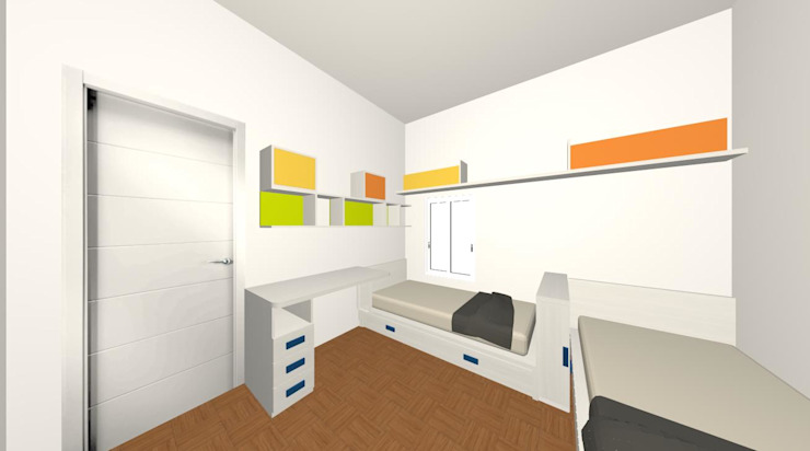 Spaziojunior Boys Bedroom Orange
