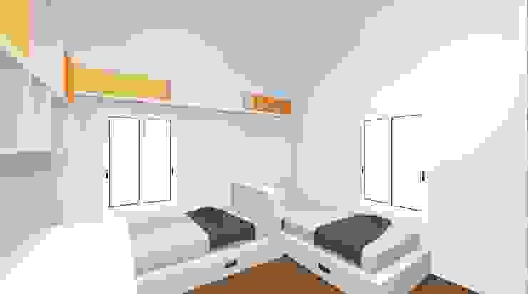Spaziojunior Teen bedroom Yellow