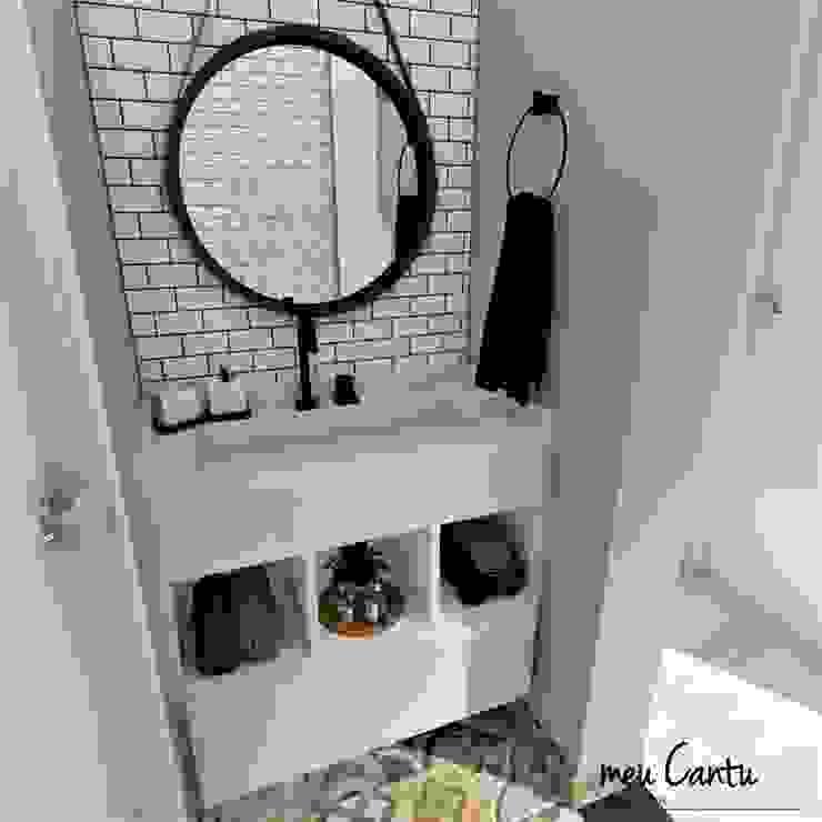 Lavatório meu Cantu arquitetura Banheiros industriais