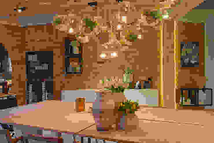 Álida Weidman Arquitetura Modern dining room