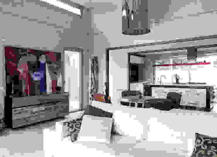 Vivienda Eco Tarifa Livings de estilo industrial de INFINISKI Industrial