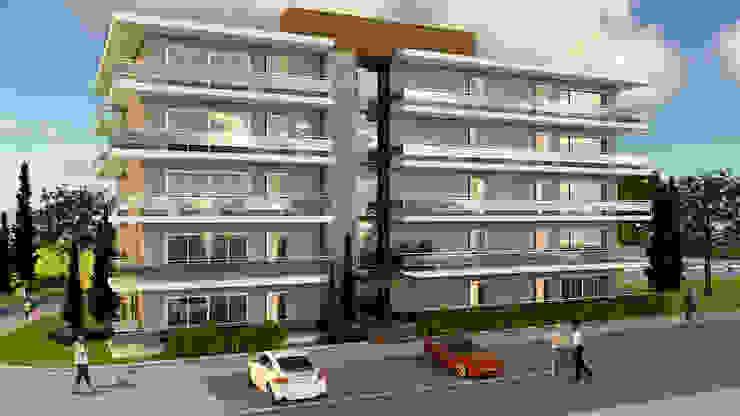 Projeto 3d do edificio multifamiliar PROJETARQ